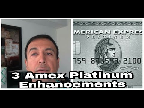 | 3 New American Express Platinum Enhancements | Bumped Up Insurance Benefits |