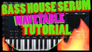 Bass House Xfer Serum Tutorial - Free Presets and Wavetables Pack Toooo