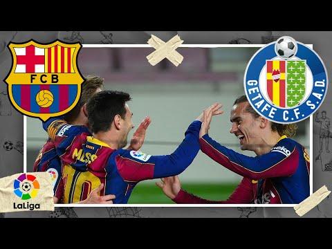 Barcelona vs Getafe | LA LIGA HIGHLIGHTS | 4/22/2021 | beIN SPORTS USA