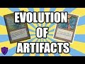 THE EVOLUTION OF ARTIFACTS - HOW HAVE ARTIFACTS IN MAGIC: THE GATHERING CHANGED OVER 25 YEARS?