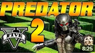 GTA V Online - EL PREDATOR INVISIBLE DE GTA 5 - Minijuego - NexxuzHD