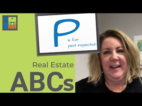 P is for Pest Inspection | Real Estate ABCs