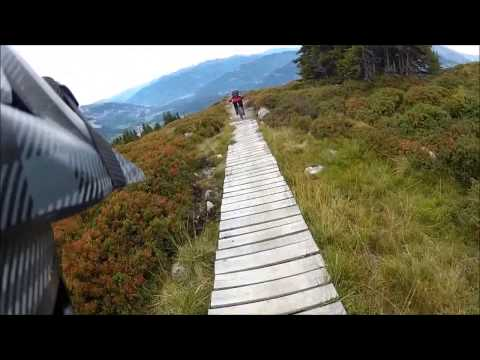 MTB Freeride Laax  The Never End  Crap Sogn Gion
