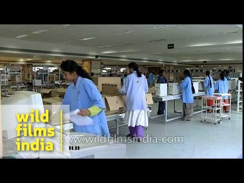 American multinational HP manufacturing computers in India