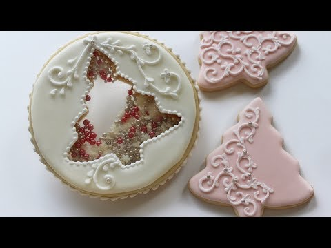 Snowball Christmas Tree Cookie