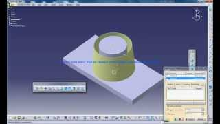 Catia V5 Tutorials|Wireframe and Surface Design|Surface Based Feature|Sew Surface