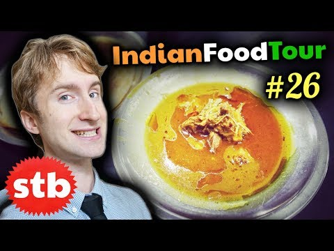 The BEST Non Veg Indian STREET FOOD in Lucknow // Tour #26