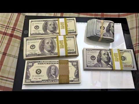 $50,000 Prop Movie Money Unboxing/Used by BigDawsTv, JoshPalerLin, OmarGoshTV, Faze Rug, UDY, & SML