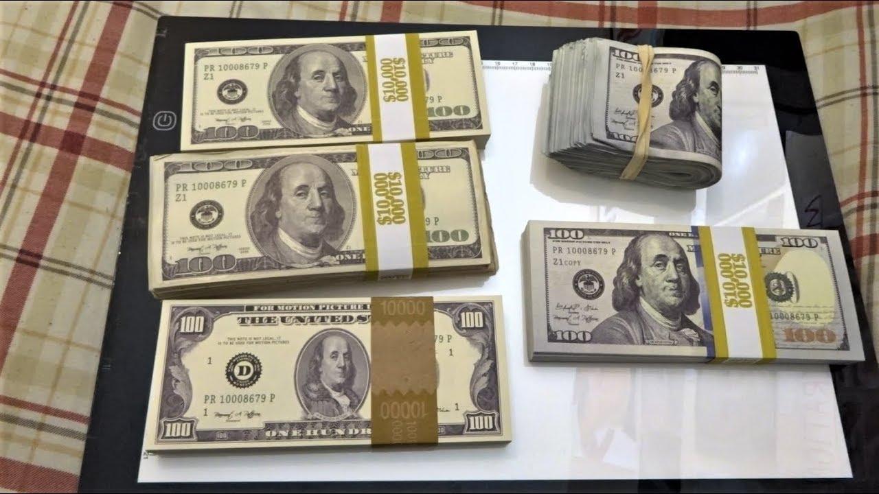 $50,000 Prop Movie Money Unboxing/Used by BigDawsTv, JoshPalerLin,  OmarGoshTV, Faze Rug, UDY, etc