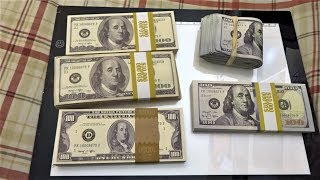 $50,000 Prop Movie Money Unboxing - The Official Prop Money of Hollywood