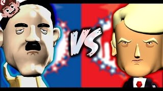ADOLF HITLER vs DONALD TRUMP (Political Machine 2016)