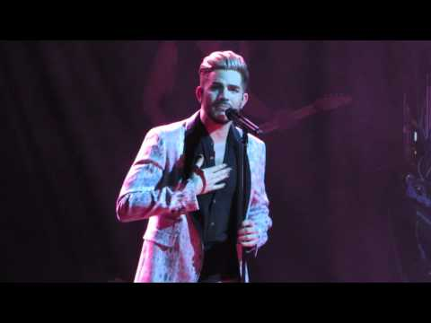Adam Lambert - There I Said It - House of Blues Boston 2/24/16