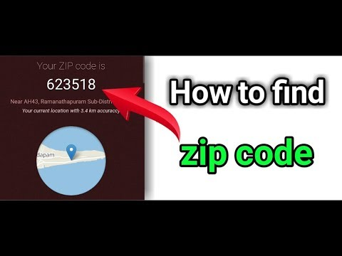 How To Find Postal Code And Zip Code ( All Area Zip Code And Pin Code Find ) Part 2
