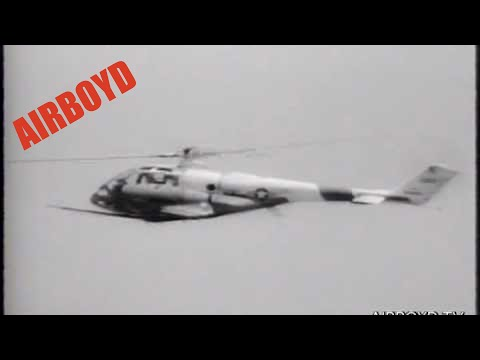 Lockheed XH-51A High Speed Jet Helicopter 240 MPH (210 Knots) 1965