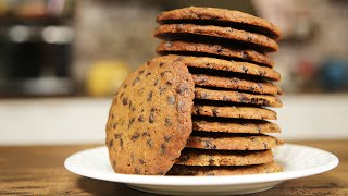 How To Make Chocolate Chip Biscuit  Easy Biscuit Recipe