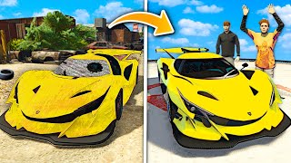 Repairing RARE Billionaire SUPERCARS In GTA 5 RP..