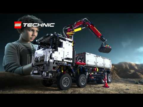 lego technic mercedes benz arocs 3245 youtube. Black Bedroom Furniture Sets. Home Design Ideas