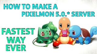 How to make a pixelmon server fastest and easiest way (latest version)