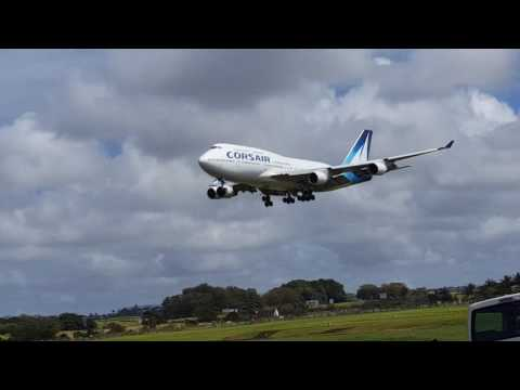Corsair Boeing 747 from Saint Denis to Mauritius