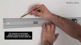 Het ophangen en aansluiten van een Verticale Revive Caldae Design Radiator