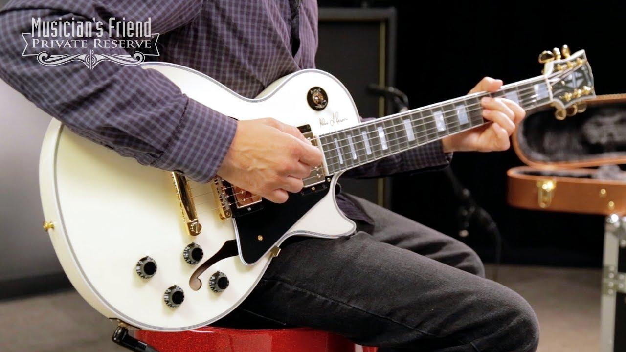 Gibson Les Paul Custom Semi Hollow Ahu Starter Panel Wiring Diagram Alex Lifeson Signature Es-les Semi-hollow Body Electric Guitar - Antique ...