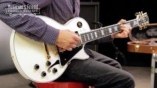 Gibson Custom Alex Lifeson Signature ES-Les Paul Semi-Hollow Body Electric Guitar - Antique White