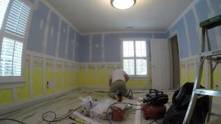 Bedroom Project Crown And Wainscoting Time Lapse Video