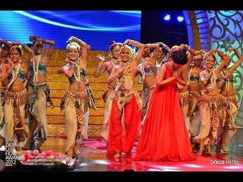 Pooja Umashankar Jala Dharawe Performance @ Derana Lux Film Awards