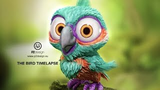 P2design timelapse the Bird