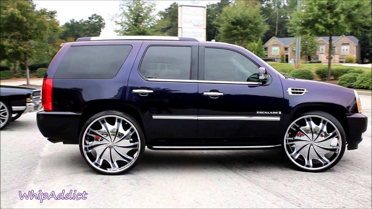 Whipaddict Cadillac Escalade On 30 Quot Starr Wheels And