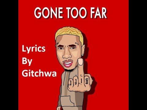 Lyrics i so far gone