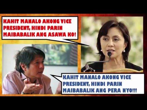 LENI ROBREDO VS BONGBONG MARCOS VICE PRESIDENTIAL ELECTION RESULT HALALAN 2016 PHILIPPINES
