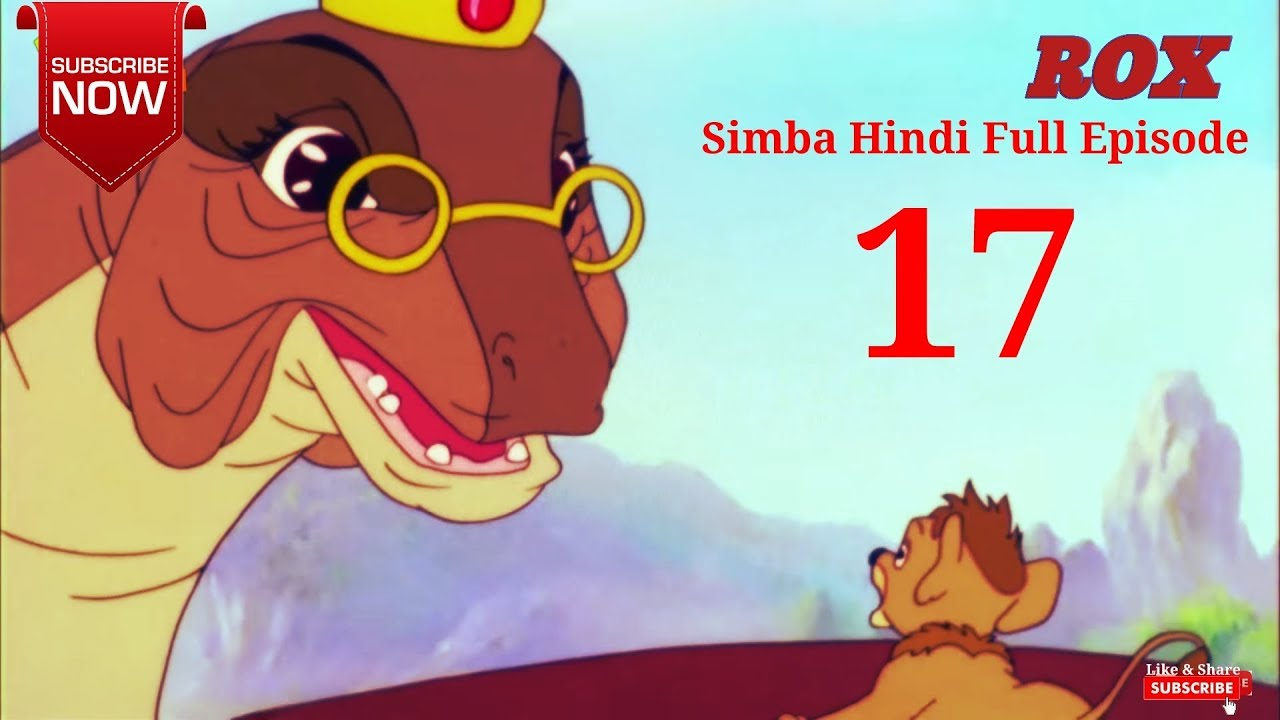 Simba Hindi Full Episode - 17 || Simba The King Lion || JustKids Show