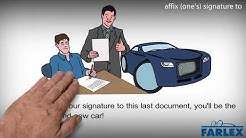 affix (one's) signature to