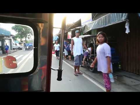 Philippines Travel vlog #1 tricycle ride in Infanta.