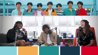 BTS co-songwriter & co-producer CANDACE SOSA tells us EVERYTHING about working on their music | CLIP