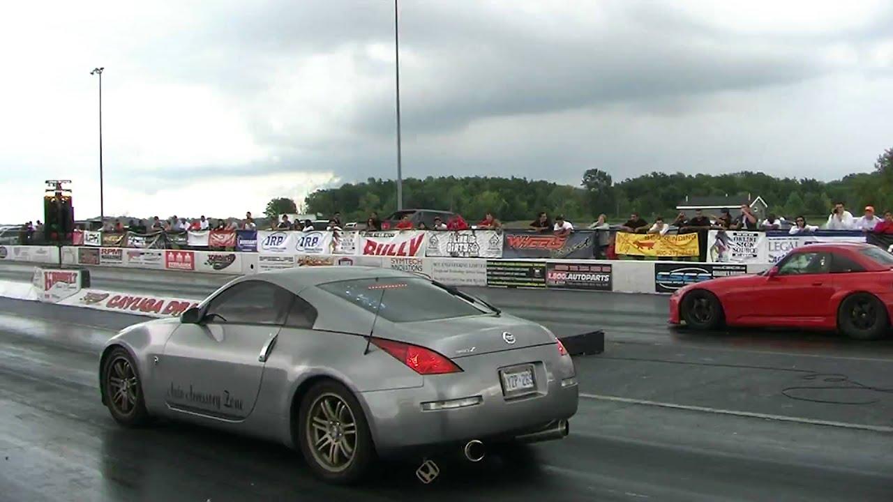 Gray 350Z vs Red Honda S2000  YouTube