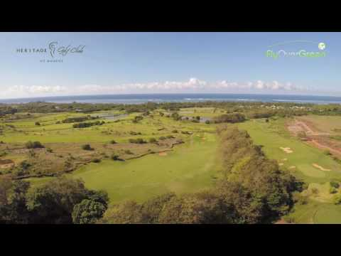 Heritage Golf Club Mauritius by FlyOverGreen
