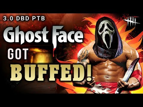 GhostFace got BUFFED!! 3.0 PTB - Dead by Daylight *new update*