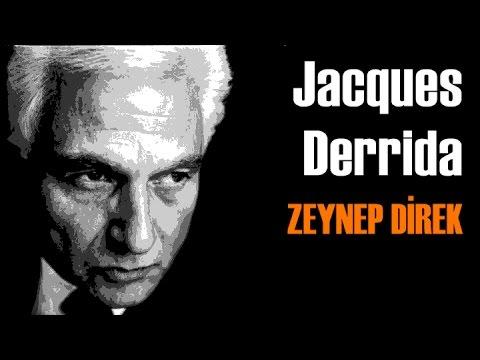 Jacques Derrida - Zeynep Direk İle Felsefe Vakti - Türkçe