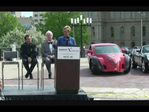 ZAP Alias Electric Car Attends PIAXP Kick-Off at Michigan State Capitol