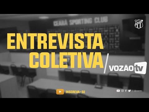 COLETIVA Robinson de Castro e Marcelo Segurado  04072019  Vozão TV
