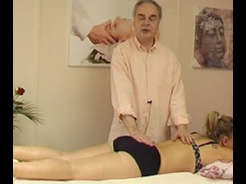 Medical massage for the coccyx or tailbone  YouTube
