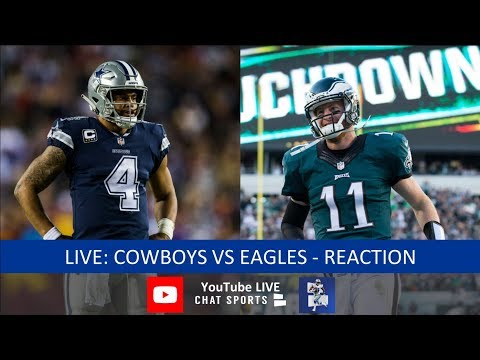 Cowboys Vs. Eagles Live Stream Reaction & Updates On Highlights From Sunday Night Football
