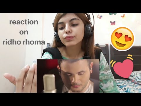 Reacting on muskurane ki wajah tum ho by ridho rhoma | syed Vaneeza reactions