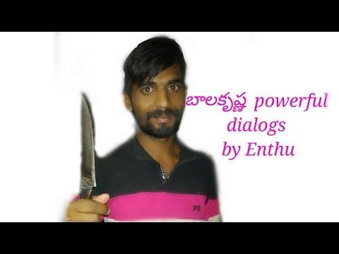 B.kothakota enthu powerful balaya dialog