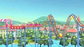 ROLLERCOASTER CREATOR EXPRESS GAME WALKTHROUGH | KIDS GAMES
