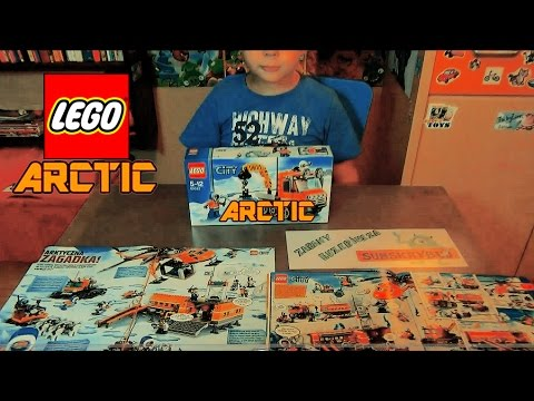 Lego City Arctic Arktyczny łazik Unboxing Ice Crawler 60033 Vlog