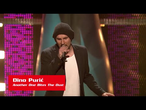 """Dino Purić: """"Another One Bites The Dust"""" - The Voice Of Croatia - Season 1 - Blind Auditions 1"""