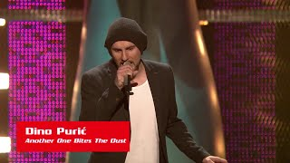 "Dino Purić: ""Another One Bites The Dust"" - The Voice of Croatia - Season 1 - Blind Auditions 1"
